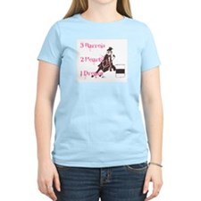 3 Barrels, 2 Hearts, 1 Dream T-Shirt