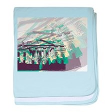 The White House baby blanket