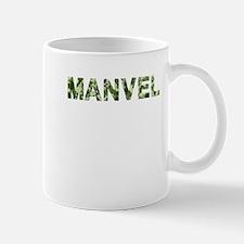 Manvel, Vintage Camo, Mug
