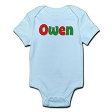 Owen Christmas Infant Bodysuit