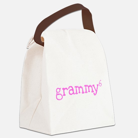 Grammy to the Sixth Power Canvas Lunch Bag