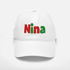 Nina Christmas Baseball Baseball Cap