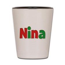 Nina Christmas Shot Glass