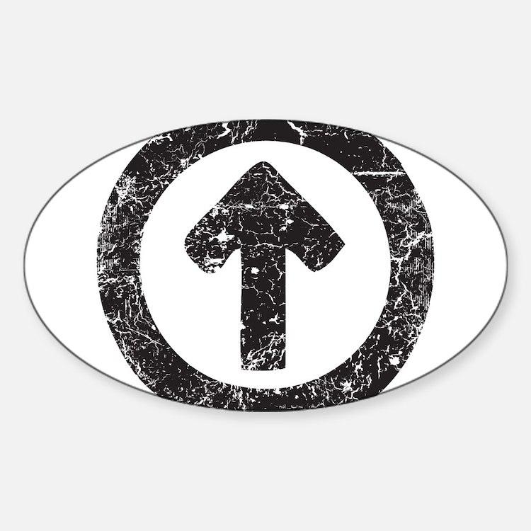 Above Influence Sticker (Oval)