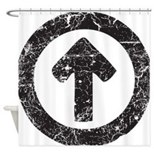 Above Influence Shower Curtain