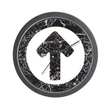Above Influence Wall Clock
