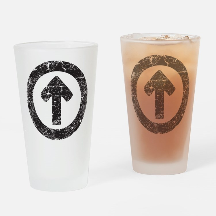 Above Influence Drinking Glass