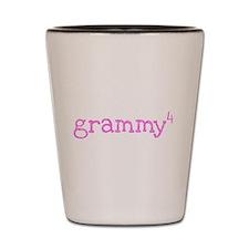 Grammy to the Fourth Power Shot Glass