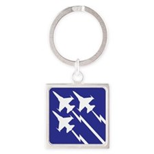 Air Force Square Keychain