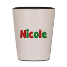 Nicole Christmas Shot Glass