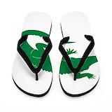Aligator Flip Flops