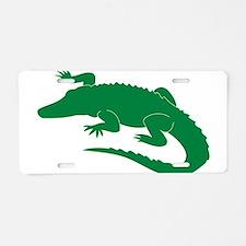 Aligator Aluminum License Plate