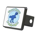 T-Rex Hates Push-ups Rectangular Hitch Cover