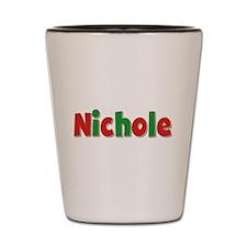 Nichole Christmas Shot Glass