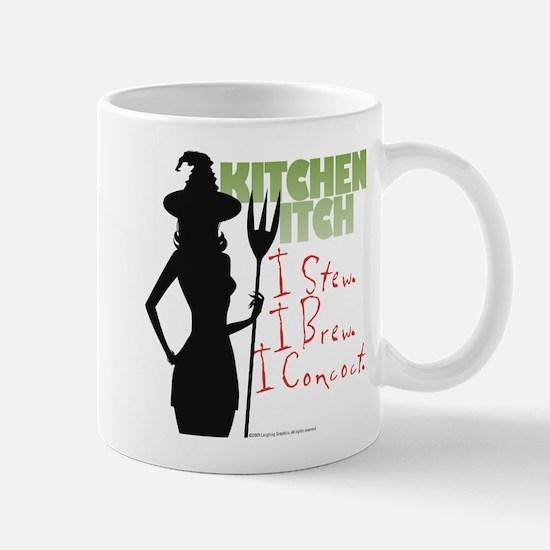 Kitchen Witch.1 Mug