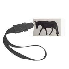 Mule outline Luggage Tag