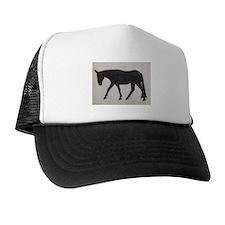 Mule outline Trucker Hat