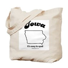 IOWA: It's easy to spell Tote Bag