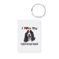 I Love Springer Keychains