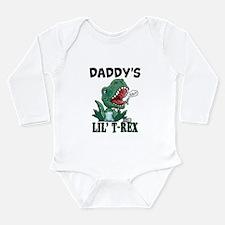 Customizable Lil' T-Rex Long Sleeve Infant Bodysui