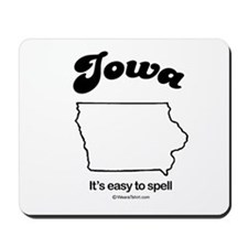IOWA: It's easy to spell Mousepad