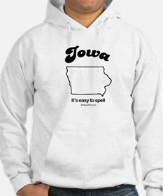 IOWA: It's easy to spell Jumper Hoody