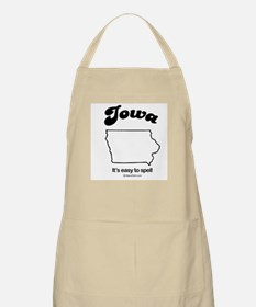 IOWA: It's easy to spell BBQ Apron