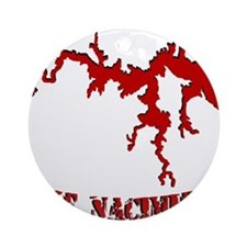 NACI_823_CRIMSON.png Ornament (Round)