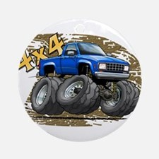 Blue_Old_Ranger.png Ornament (Round)