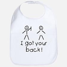 I Got Your Back Silly Bib