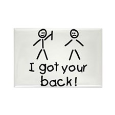 I Got Your Back Silly Rectangle Magnet