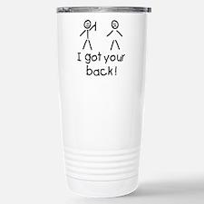 I Got Your Back Silly Travel Mug