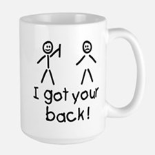 I Got Your Back Silly Large Mug