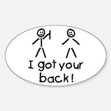 I Got Your Back Silly Decal