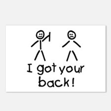I Got Your Back Silly Postcards (Package of 8)