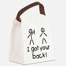 I Got Your Back Silly Canvas Lunch Bag