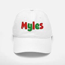 Myles Christmas Baseball Baseball Cap