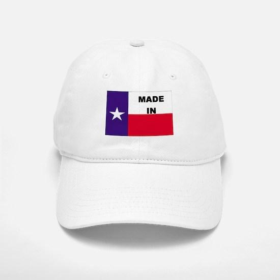 Made In Texas Baseball Baseball Cap