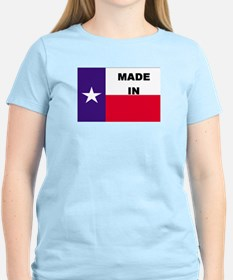 Made In Texas Women's Pink T-Shirt