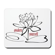 Let Us Lotus Mousepad