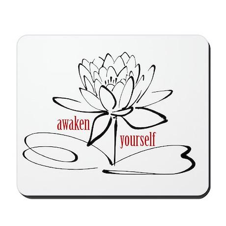 Let Us Lotus Mousepad
