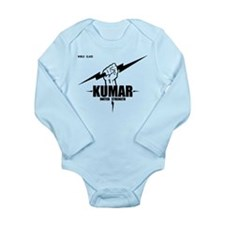 Kumar Lightning 4 Long Sleeve Infant Bodysuit