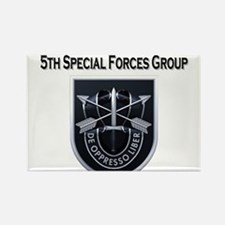 5th Special Forces Group Rectangle Magnet