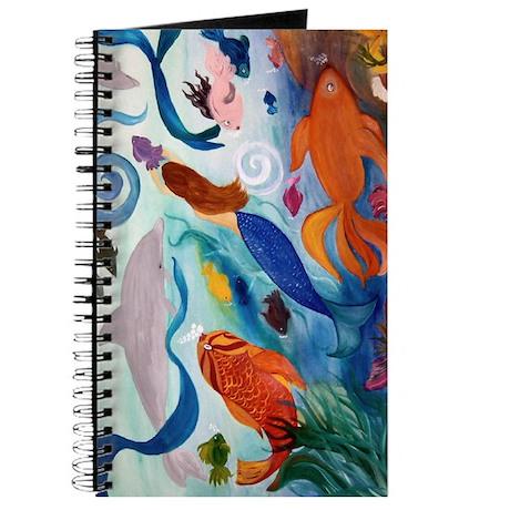 Tropical Fish & Mermaid Party Journal