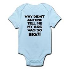 Big Ass Infant Bodysuit