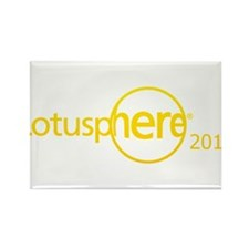 Unofficial Lotusphere 2013 Rectangle Magnet