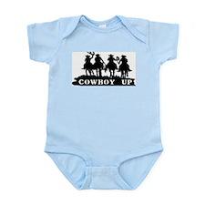 Cowboy Up Infant Bodysuit