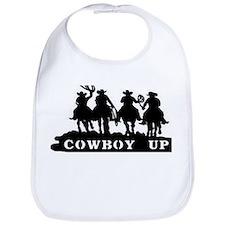 Cowboy Up Bib