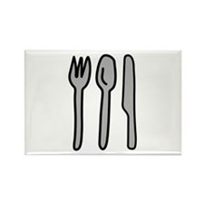 Utensils Rectangle Magnet