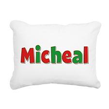 Micheal Christmas Rectangular Canvas Pillow